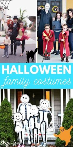 Check out these DIY Family Halloween Costumes. Dressing together as a theme is so clever and fun! I love a unique creative costume idea. #halloween #familyhalloweencostumes #halloweencostumes Family Halloween Costumes, Halloween Kids, Halloween Crafts, Halloween Makeup, Halloween Decorations, Halloween Party, Halloween Recipe, Halloween College, Halloween Office