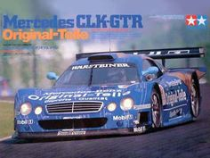Boxart Mercedes-Benz CLK-GTR 24214 Tamiya