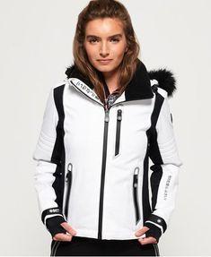 Superdry Luxe Snow Puffer Windproof Jacket: Amazon.co.uk