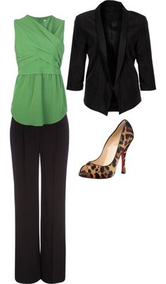 business outfit. Love!