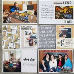 2014 Project life week 6 right by Kelleanne at @Studio_Calico #projectlife