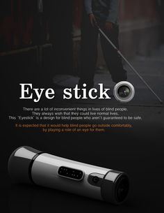 Eye Stick – Modern Cane For Blind People by Kim Tae-Jin » Yanko Design