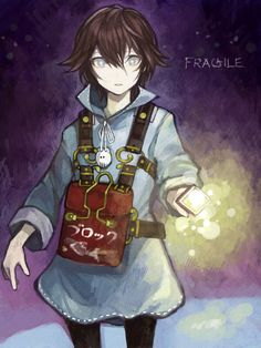 This is my favorite game ever!!!!!                It's really cool and fun so I suggest u play it xD.                                                     His name is seto but he doesn't have a last name.                                                    The games name is,                         fragile dreams:farewell ruins of the moon