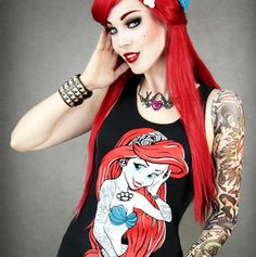 Black Tank Rebel Ariel