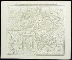 "Affricae Nova Tabula C1570 Munster Handsome Map of ""Modern"" Africa   eBay"