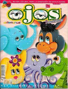 Revistas de manualidades Gratis: Cómo dibujar ojos a las manualidades