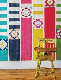 Love this design from the Quilt Block Cookbook