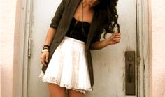 Blazers and Lace http://bit.ly/HRetFx