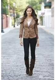 TWO BUTTON BLAZER: 29.90  Perfect Boots.