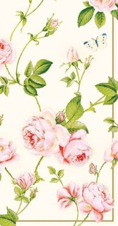 cream rambling rose decoupage art paper napkinsflower chabby chic design craft scrapbooking decoupage tissue paper set of 2 - Decorative Paper Napkins