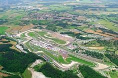 Mugello in is a modern circuit with excellent facilities and km track. is home of the event Gran Premio d'Italia TIM. Motogp, Old Town, To Go, Race Tracks, Racing, Italy, F1, Motorbikes, Ribbons