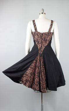 Full skirt cocktail party dress