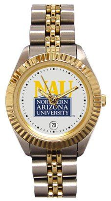 Northern Arizona University Lumberjacks Ladies Executive Stainless Steel Sports Watch by SunTime. $149.99