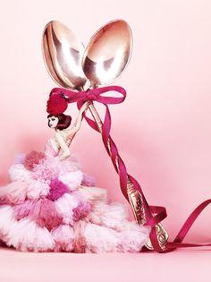 Strawberry Queen Campaign for Japan Haagen-Das - Photographer Shimomura \ Hair & Makeup Noboru Tomizawa