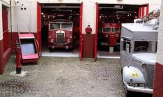 Scottish Fire and Rescue Service Museum and Heritage Center Greenock, Renfreshire Ambulance, Museum Art Gallery, Heritage Center, Fire Engine, Vintage Trucks, Police, Fire Trucks, Glasgow, Classic Cars