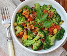 myhealthyweighs:  Broccoli Veggie Saute