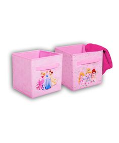Take a look at this Royalty Collapsible Storage Cube Set by Disney on #zulily today!