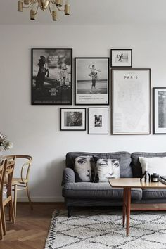 There's a reason a grayscale color scheme exudes understated elegance. Here are nine gray living rooms that are equal parts sophisticated and subdued.