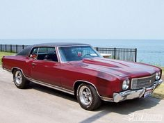 '70 Chevy Monte` Carlo.  If only it were all black everything. ;)