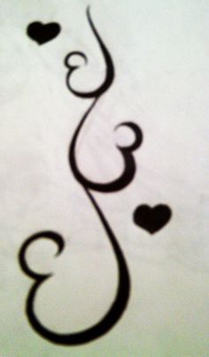 It's 3 hearts for 3 sisters