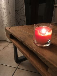 Candle pallet