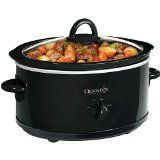Crock Pot 6 Qt Slow Cooker Black Oval Scv600b >>> Want to know more, click on the image.