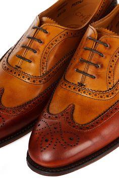 Maisie Brogue : Joseph Cheaney Shoe || Walker Slater Tweed Specialists