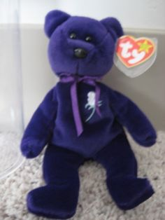 Princess Diana Limited First Edition 1997 Ty Beanie Baby unnumbered tush tag
