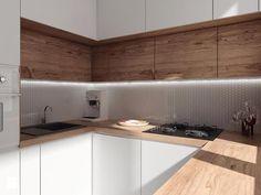 projekt 10 - Kuchnia, styl nowoczesny - zdjęcie od PASS architekci
