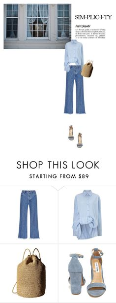 """""""Untitled #392"""" by duoduo800800 ❤ liked on Polyvore featuring Sandy Liang, Victoria, Victoria Beckham, Hat Attack and Steve Madden"""
