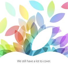 My expectation: Apple event Oct 22, 2013