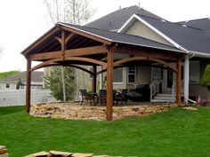 beautiful backyard pavilions - Patio Pavilion Ideas