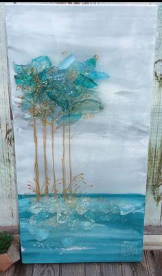 Glass art Sculpture Paper Weights - Glass art Garden How To Make - - Beach Glass art Window - - Broken Glass Crafts, Broken Glass Art, Sea Glass Crafts, Shattered Glass, Sea Glass Art, Glass Wall Art, Stained Glass Art, Water Glass, Seashell Crafts