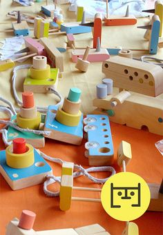 Juguetes de madera para niños de Mamëll