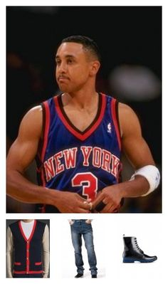 """Inspired by John Starks. August 10, 2012. You are the blue-collar NBA All-Star who earned his way from the CBA to starring at Madison Square Garden for the New York Knicks. While you had a very solid career, you are best known for """"The Dunk"""", a left-handed jam over the Bulls' Michael Jordan and Horace Grant in the NBA 1993 Playoffs--one of the top five in-game dunks of all time!"""
