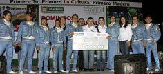 """Todo un Éxito nuestro Primer Concurso de Mariachi en Madero y tras las interpretaciones y después de una meticulosa deliberación, el veredicto como ganador absoluto recayó en el Mariachi """"Siete Mares"""" de Ciudad Madero"""