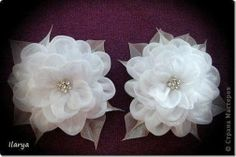 Fabric Flower by Ilarya - Fabric Bows and More