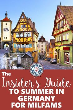 Tips for summer fun from a military spouse who has lived in Germany. military family