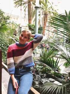 Knitting pattern for the must-have sweater of the spring - SILVER STORIES