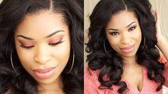 Rust Pearl Pink   Valentine's Day Makeup   MAKEUP