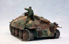 Jagdpanzer German Tank model