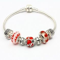 9621240d7 Hot Love Charm Bracelets Fit pandora,trollbeads,chamilia,biagi,soufeel and  any customized bracelet/necklaces.