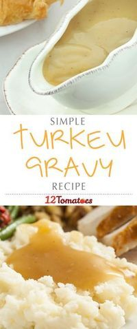 We've got an easy-peasy gravy recipe to lighten your load and make the meal production a little less crazy regardless of whether you're using turkey drippings or not! #Thanksgiving #ThanksgivingRecipes