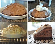 I love the fun in this dessert! Who would have thought that you can put ice cream in the oven? The trick is to make sure the ice cream is to...