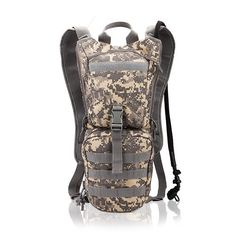 military bottle pouch tactical kamp malzemeleri hydration backpack water bag camping camelback bicycle mochila de Hydration 3L