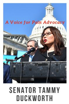 During her address on the Senate floor, Senator Duckworth reminded her colleagues of the importance of supporting members of the military, an advocacy position shaped by her personal experience as an Iraq War veteran and her ongoing battle with pain. She said she would continue to actively fight for her constituents in an increasingly visible role. Read her amazing story from our Spring issue NOW!