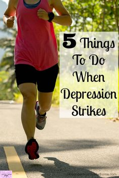 Don't let depression run your life! Take control of your depression today!