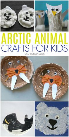 27 Easy and Fun Arctic Animal Crafts for Kids Winter Crafts For Toddlers, Winter Activities For Kids, Animal Crafts For Kids, Crafts For Kids To Make, Toddler Crafts, Preschool Crafts, Snow Crafts, Bear Crafts, Diy Crafts
