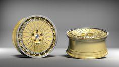 Die neuen etabeta EB40 Felgen versüßen Tunern das Jubiläumsjahr der Italiener. Gemeinsam mit mbDESIGN entstanden die neuen Alufelgen in 19 Zoll und gold polish.
