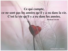 Life Quotes : Perdre un être cher - The Love Quotes Mon Cheri, Top Quotes, Life Quotes, Abraham Lincoln, Tu Me Manques, Looking For Love, Sign Printing, Positive Affirmations, Sentences